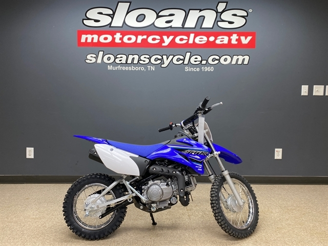 2021 Yamaha TT-R 110E at Sloans Motorcycle ATV, Murfreesboro, TN, 37129