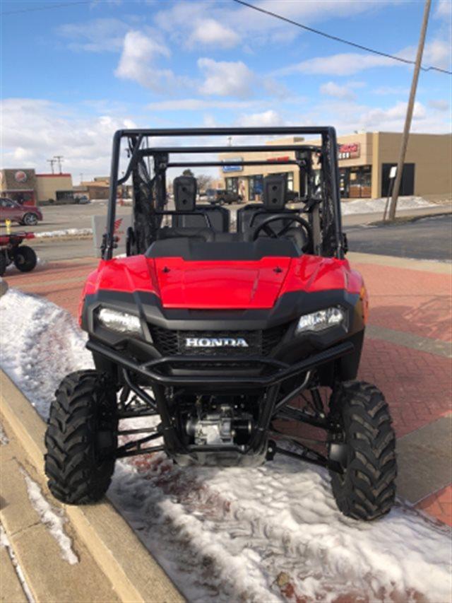 2019 HONDA PIONEER 700 4-SEAT at Genthe Honda Powersports, Southgate, MI 48195