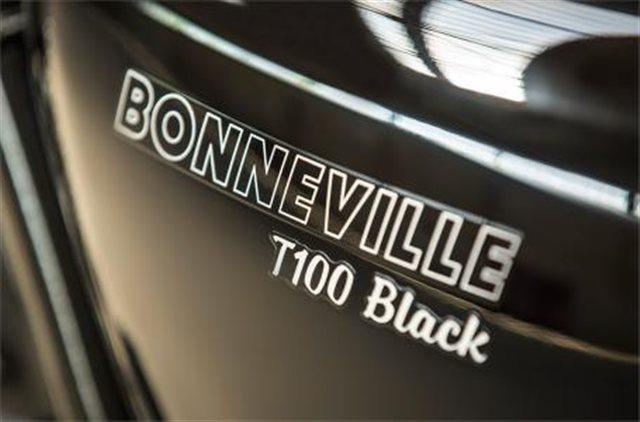 2019 Triumph Bonneville T100 Black at Frontline Eurosports