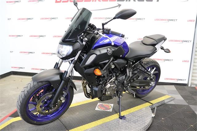 2020 Yamaha MT 07 at Used Bikes Direct