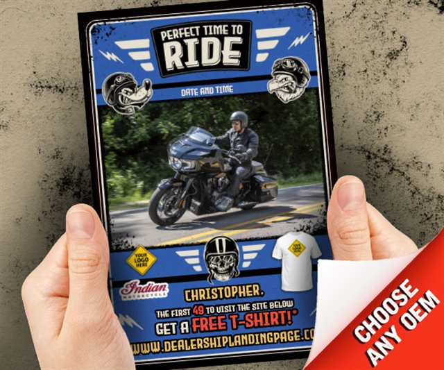 Perfect Time To Ride  at PSM Marketing - Peachtree City, GA 30269