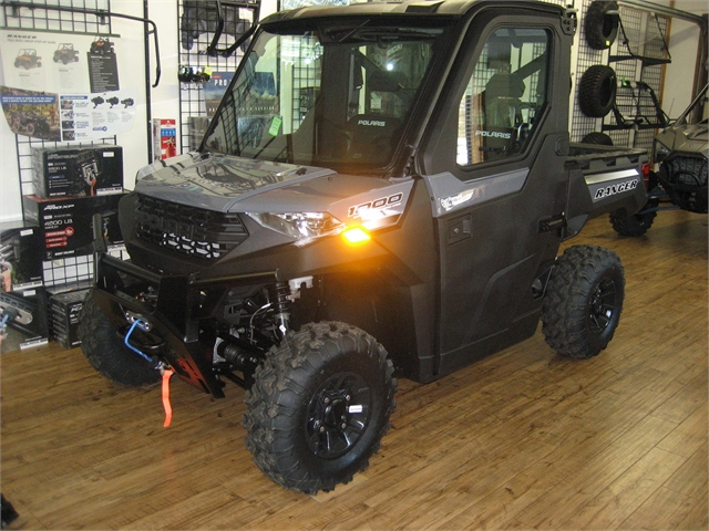 2021 Polaris Ranger 1000 Premium Winter Prep-Stealth Gray at Fort Fremont Marine