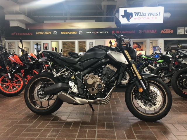 2021 Honda CB650R ABS at Wild West Motoplex