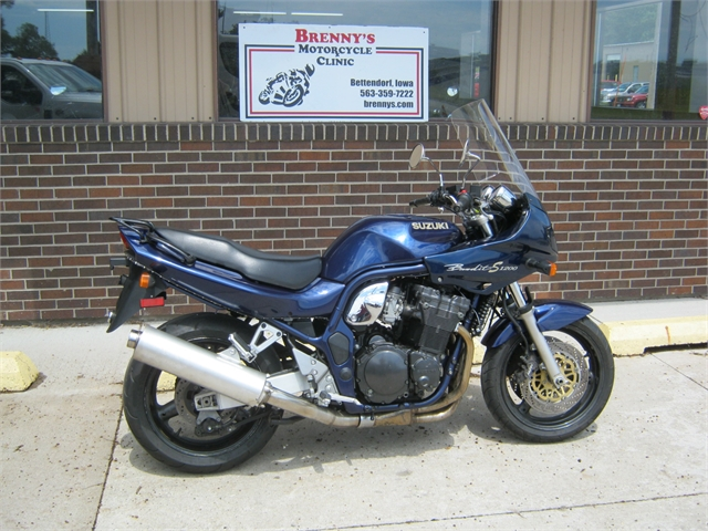 1997 Suzuki 1200 Bandit S GSF1200 at Brenny's Motorcycle Clinic, Bettendorf, IA 52722