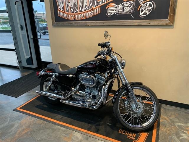 2009 Harley-Davidson Sportster 883 Custom at Vandervest Harley-Davidson, Green Bay, WI 54303