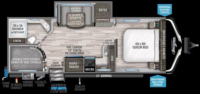 2020 Grand Design Imagine 2400BH at Youngblood RV & Powersports Springfield Missouri - Ozark MO