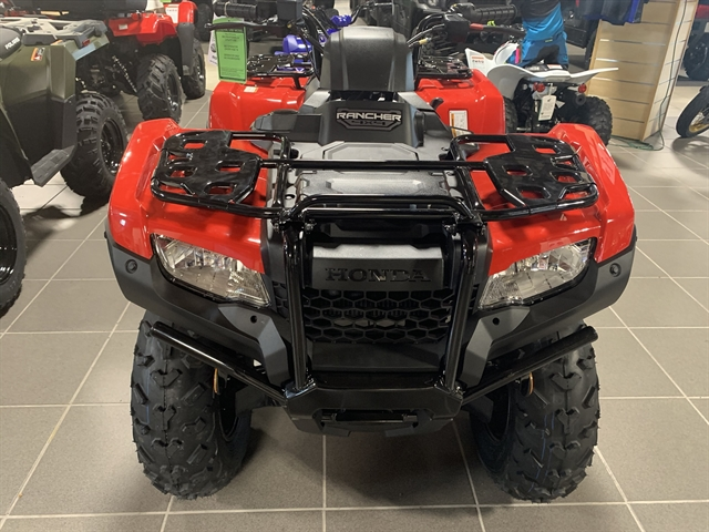 2021 Honda FourTrax Rancher 4X4 at Star City Motor Sports
