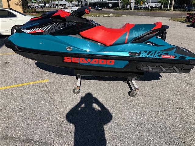 2019 Sea-Doo Wake™ 155 at Jacksonville Powersports, Jacksonville, FL 32225
