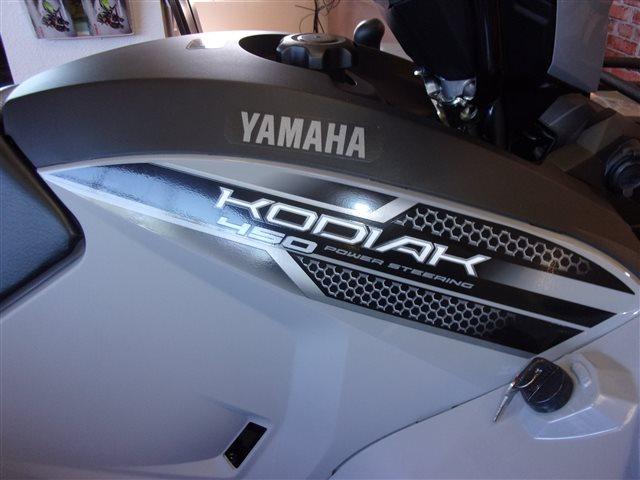 2019 Yamaha Kodiak 450 EPS Armor Grey at Bobby J's Yamaha, Albuquerque, NM 87110