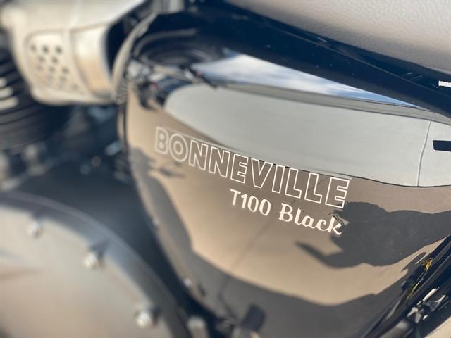 2020 Triumph Bonneville T100 Black at Frontline Eurosports