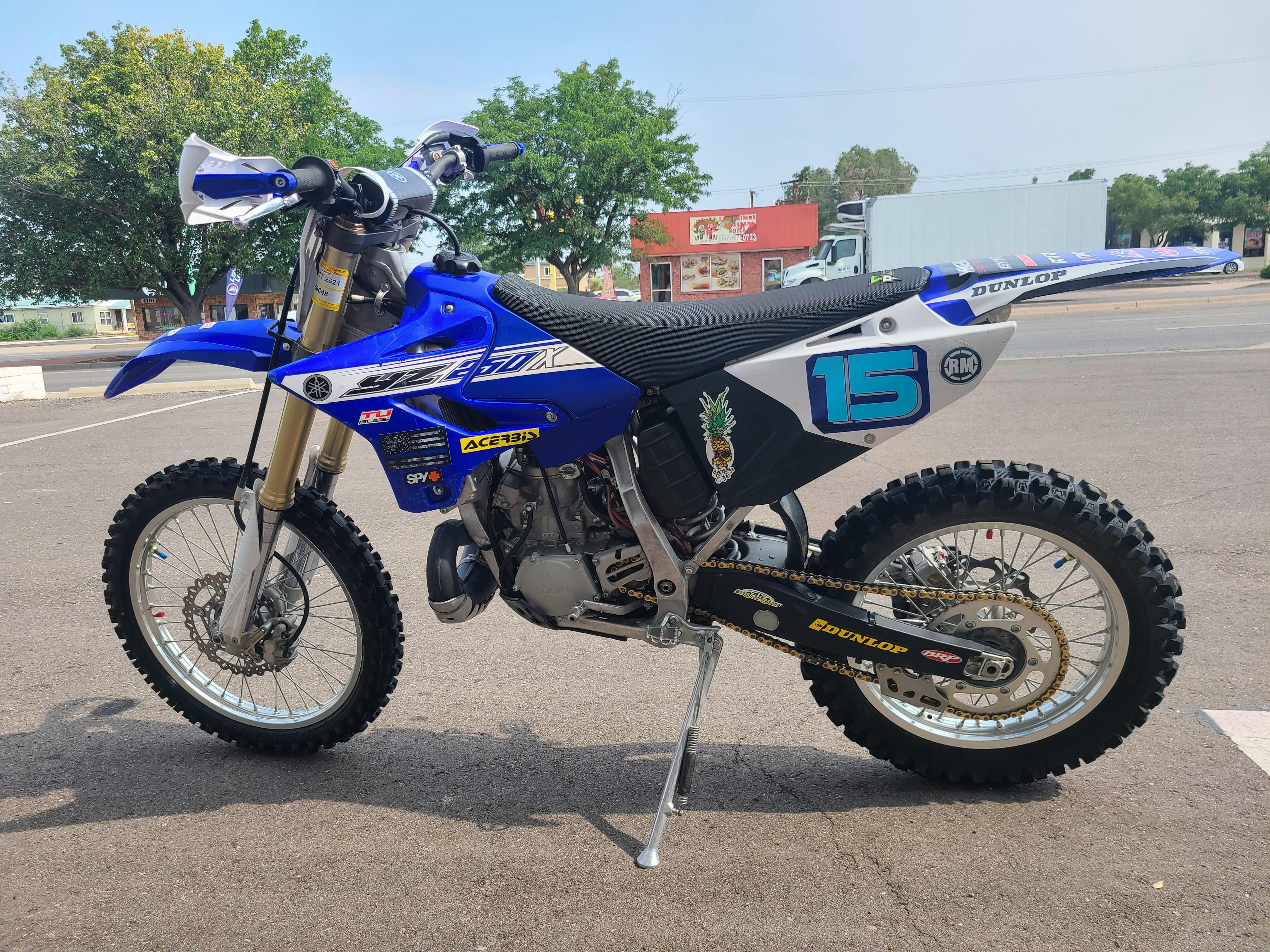 2016 Yamaha YZ 250X 250 X at Bobby J's Yamaha, Albuquerque, NM 87110