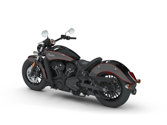 2018 Indian Motorcycle Scout Sixty ABS Thunder Black / Titanium Metallic at Brenny's Motorcycle Clinic, Bettendorf, IA 52722