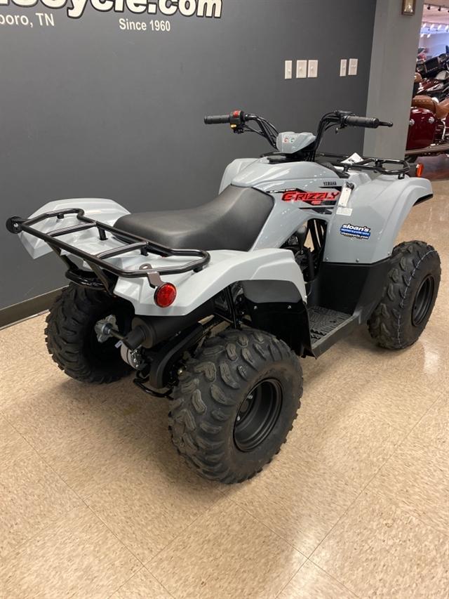2021 Yamaha Grizzly 90 at Sloans Motorcycle ATV, Murfreesboro, TN, 37129