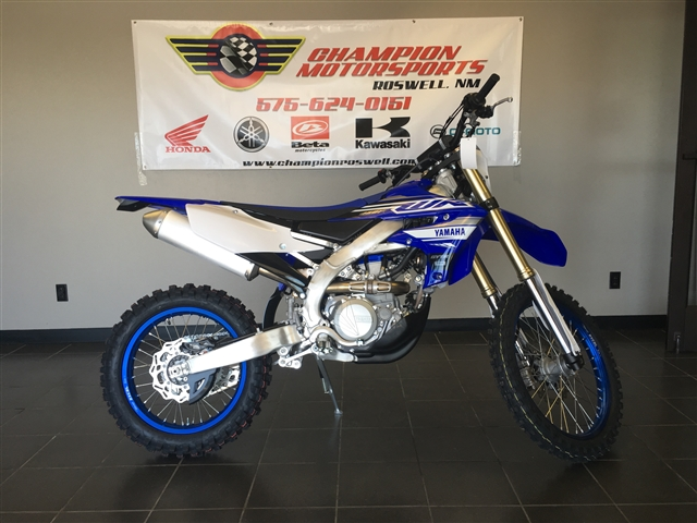 2019 Yamaha WR 450F at Champion Motorsports, Roswell, NM 88201