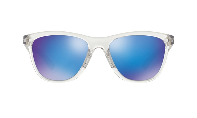2018 Oakley Women's Moonlighter Frost w/ Sapphire Iridium at Harsh Outdoors, Eaton, CO 80615