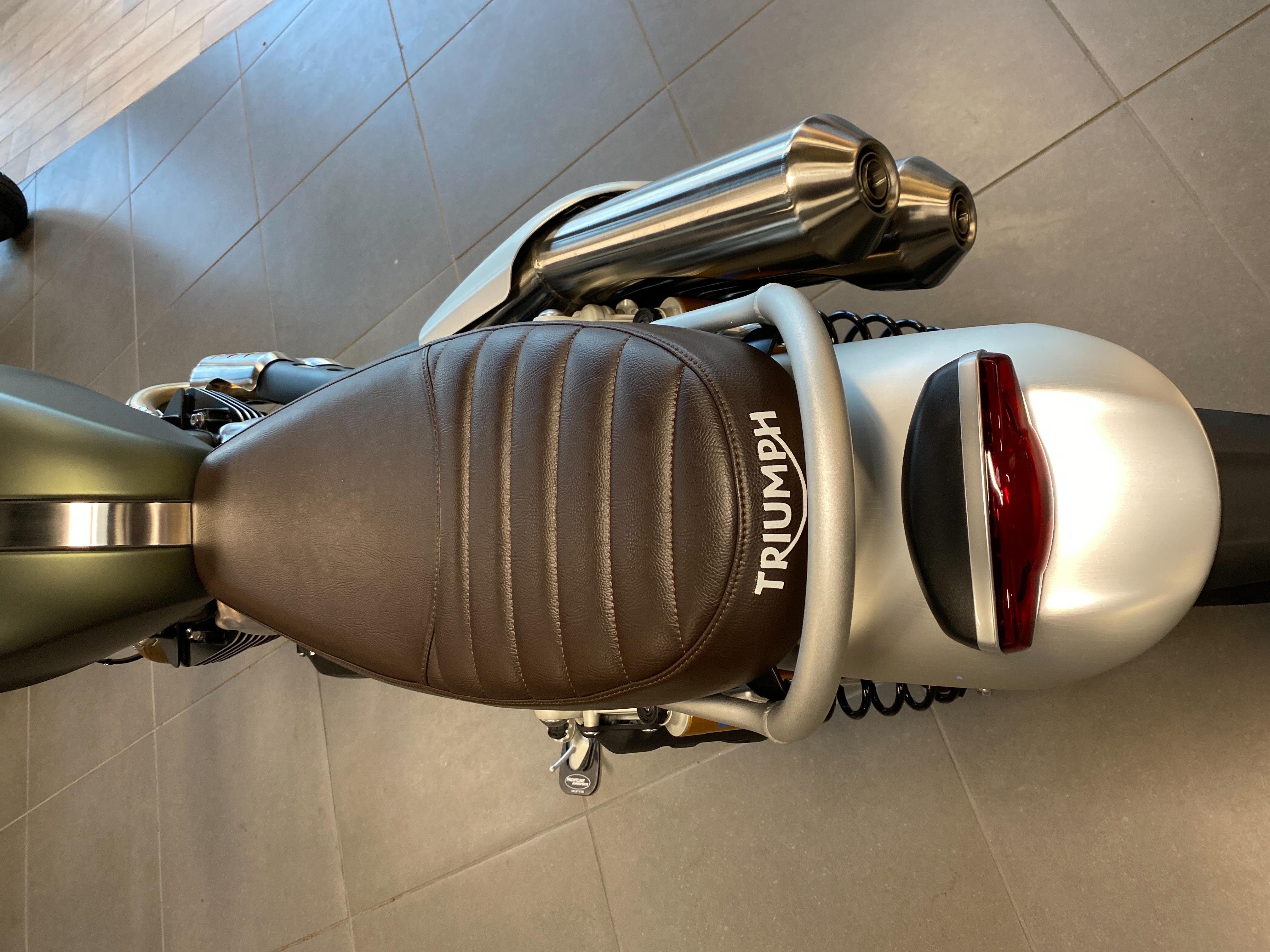 2022 Triumph Scrambler 1200 XC at Frontline Eurosports