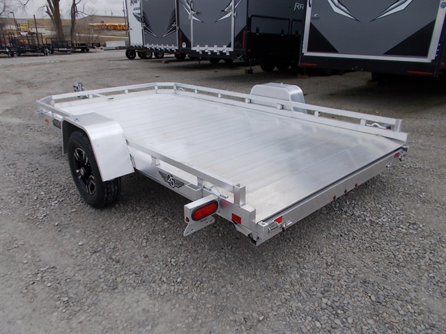 2022 Aluma Single Heavy Axle Utility Trailers 7712H at Nishna Valley Cycle, Atlantic, IA 50022