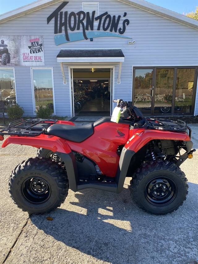2021 Honda FourTrax Rancher 4X4 Automatic DCT EPS at Thornton's Motorcycle - Versailles, IN