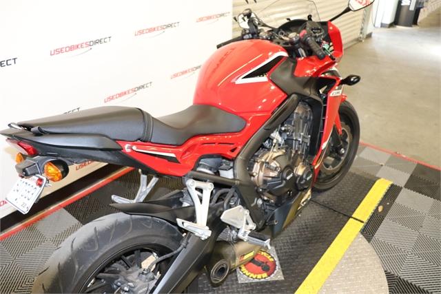 2018 Honda CBR650F Base at Used Bikes Direct