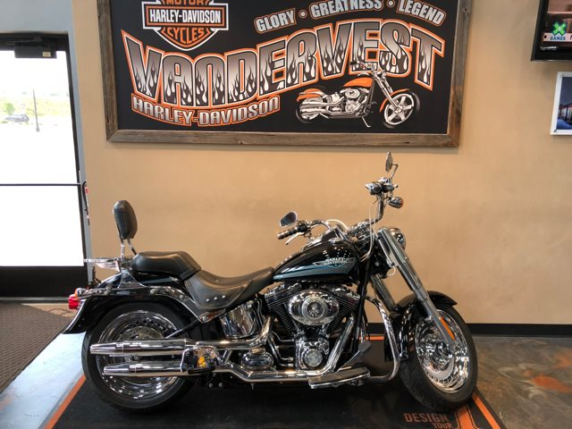 2009 Harley-Davidson Softail Fat Boy at Vandervest Harley-Davidson, Green Bay, WI 54303