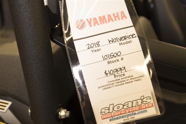 2018 Yamaha Wolverine Base at Sloan's Motorcycle, Murfreesboro, TN, 37129