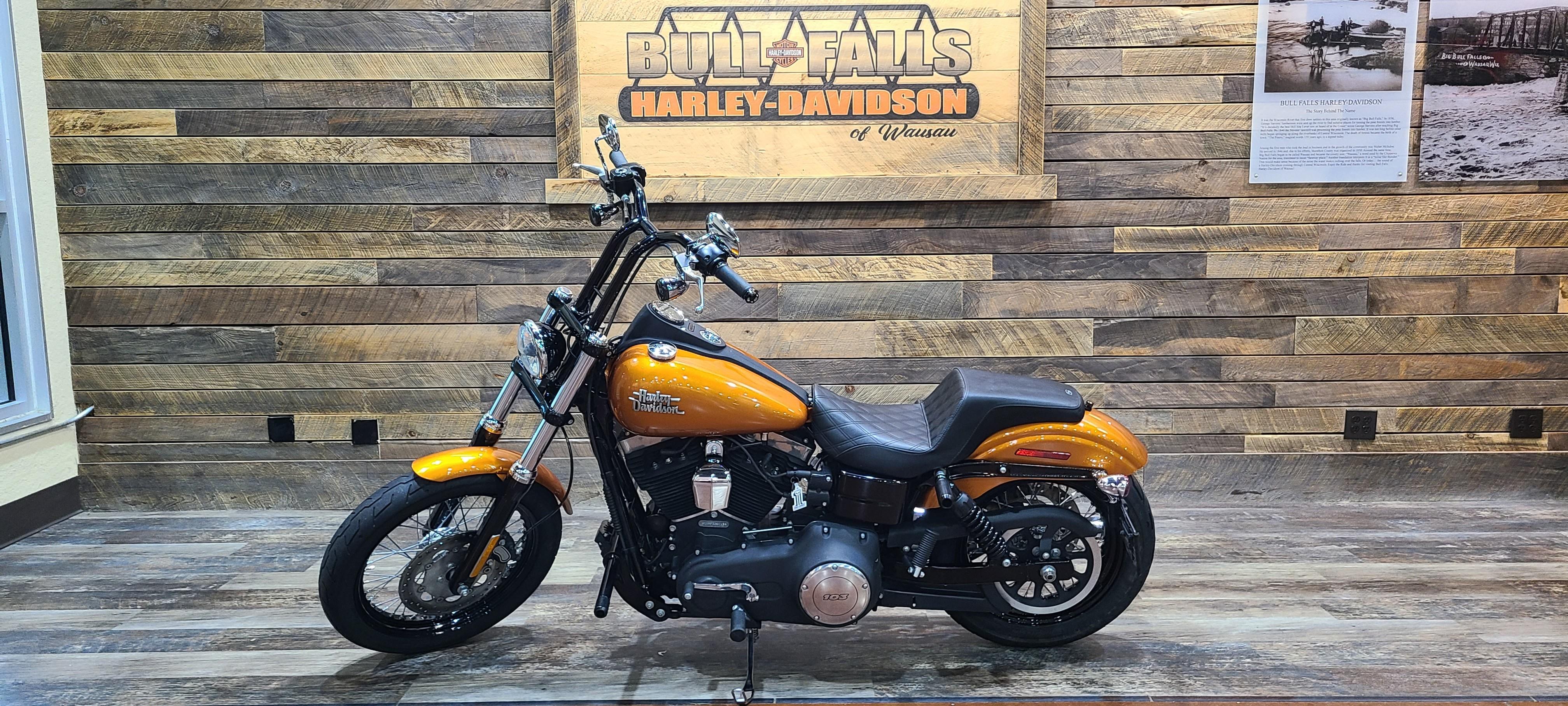 2015 Harley-Davidson Dyna Street Bob at Bull Falls Harley-Davidson