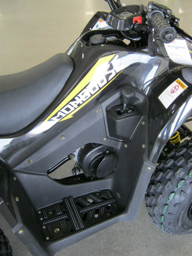 2021 Kymco Mongoose 90 S (Y10) at Brenny's Motorcycle Clinic, Bettendorf, IA 52722