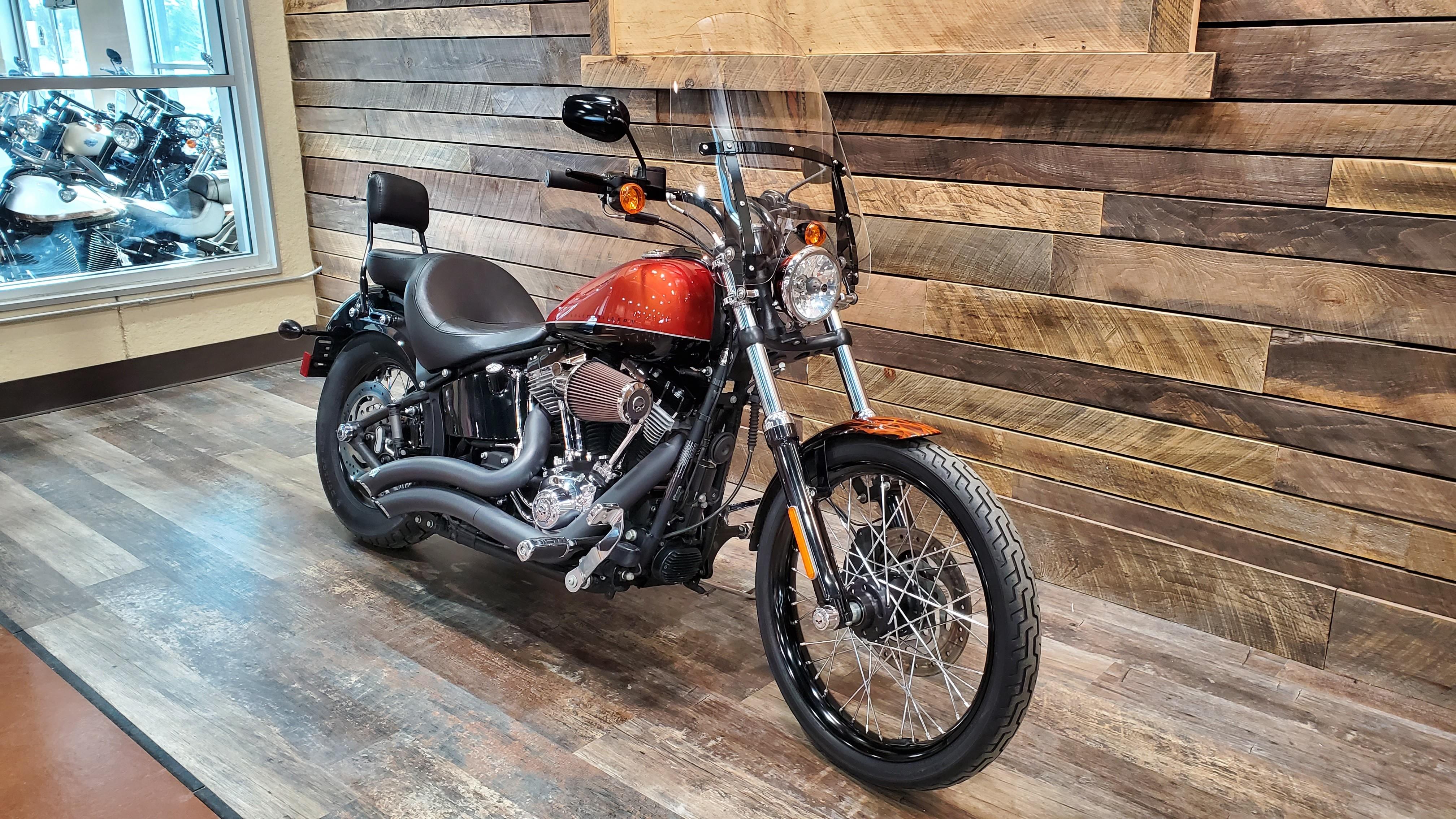 2011 Harley-Davidson Softail Blackline at Bull Falls Harley-Davidson