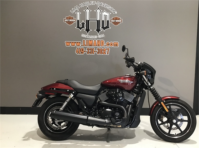 2017 Harley-Davidson Street 750 at Lima Harley-Davidson