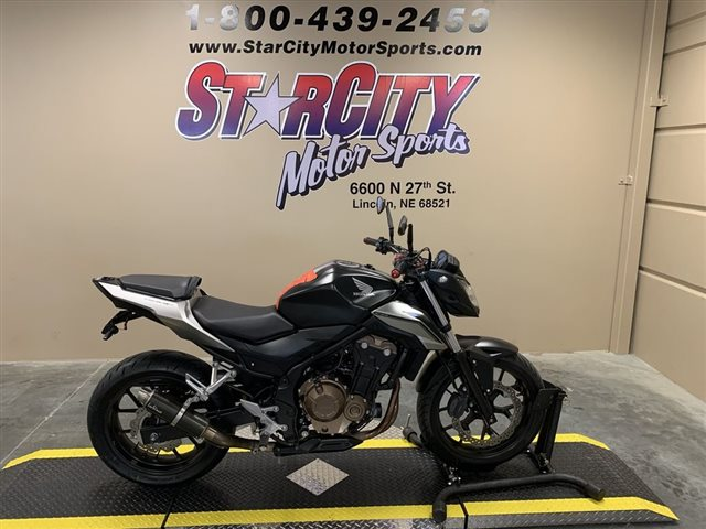 2016 Honda CB500F 500F at Star City Motor Sports
