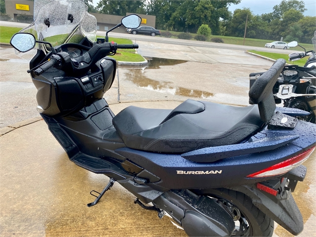 2019 Suzuki Burgman 400 at Shreveport Cycles