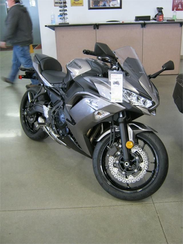 2021 Kawasaki Ninja 650 Base at Brenny's Motorcycle Clinic, Bettendorf, IA 52722