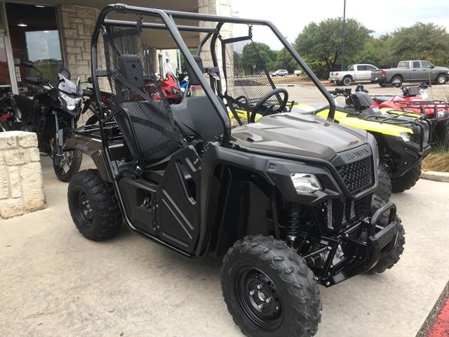2020 Honda Pioneer 500 Base at Kent Motorsports, New Braunfels, TX 78130