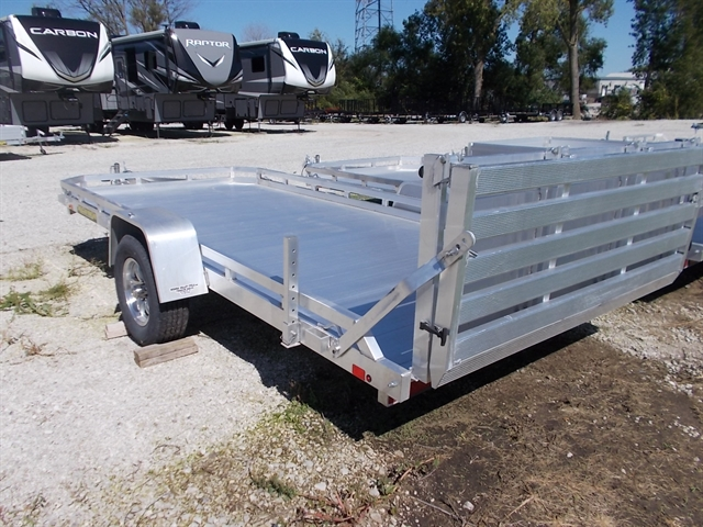 2020 Aluma Single Heavy Axle Utility Trailers 7814ST Utility Trailer at Nishna Valley Cycle, Atlantic, IA 50022