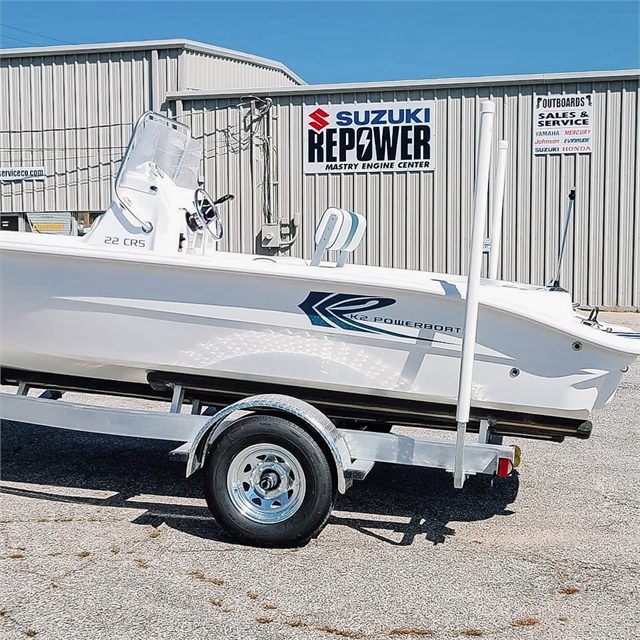 2021 K2 Powerboats 22 CRS at Powersports St. Augustine