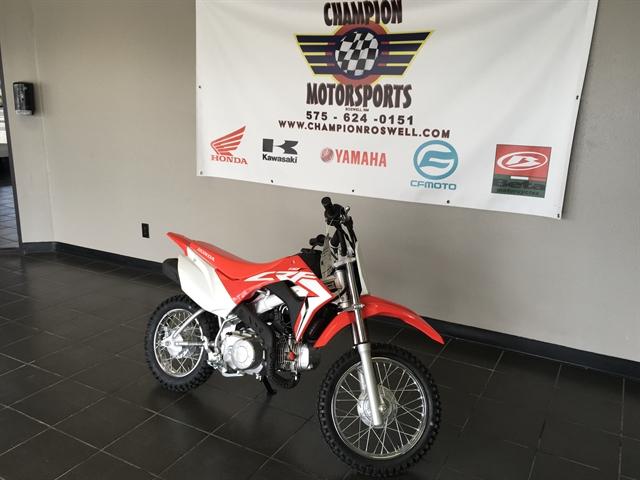 2021 Honda CRF 110F at Champion Motorsports
