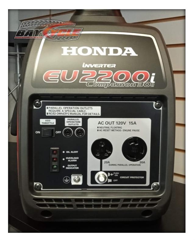 2020 Honda Power EU2200ITA1 - Companion at Bay Cycle Sales