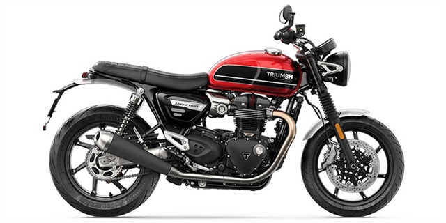 2021 Triumph Speed Twin Base at Eurosport Cycle