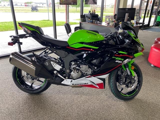 2021 Kawasaki Ninja ZX-6R ABS KRT Edition at Dale's Fun Center, Victoria, TX 77904