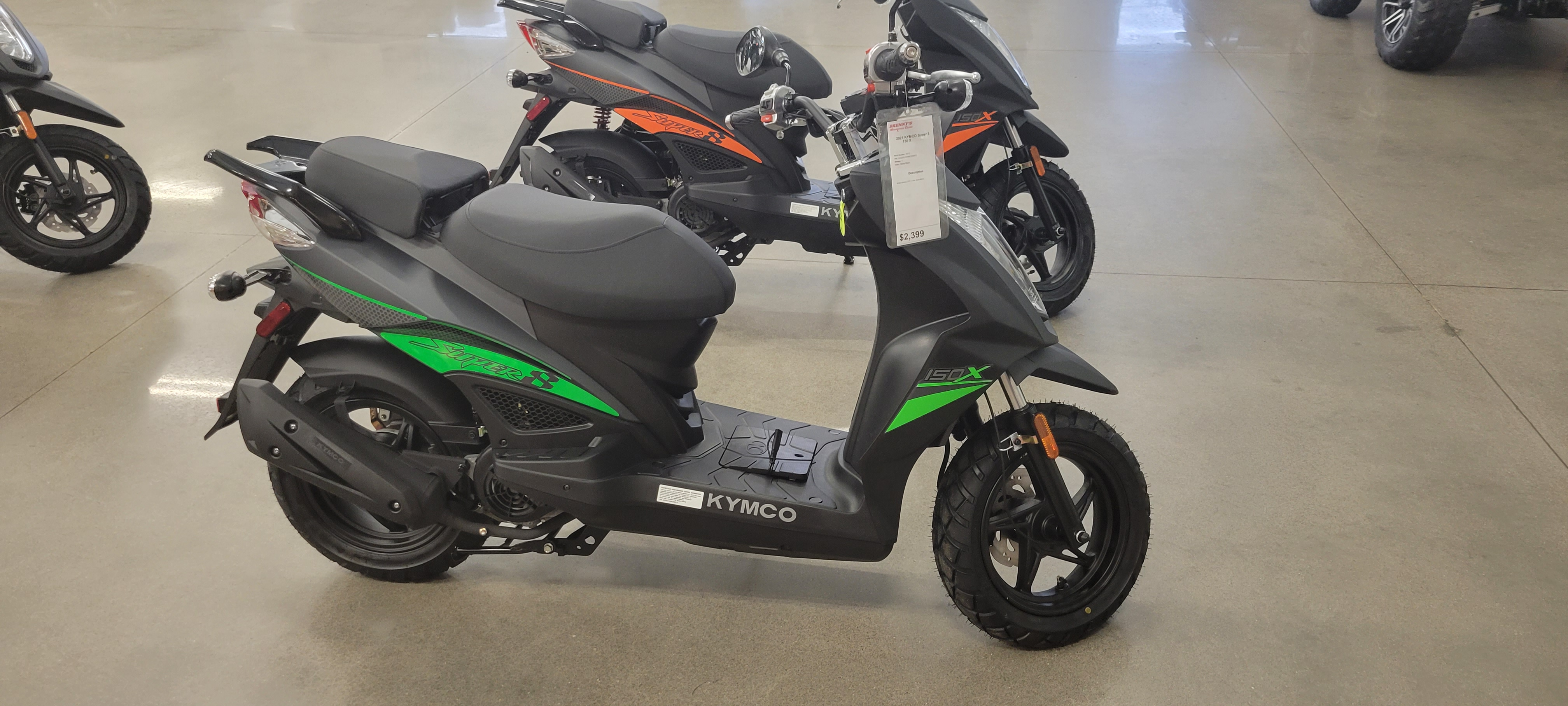 2021 KYMCO Super 8 150 X 450i LE at Brenny's Motorcycle Clinic, Bettendorf, IA 52722