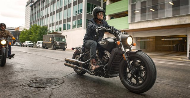 2018 Indian Scout Bobber at Fort Lauderdale