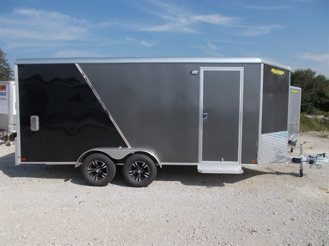 2020 Aluma Enclosed Tandem Axle Trailers AE716TA/R at Nishna Valley Cycle, Atlantic, IA 50022