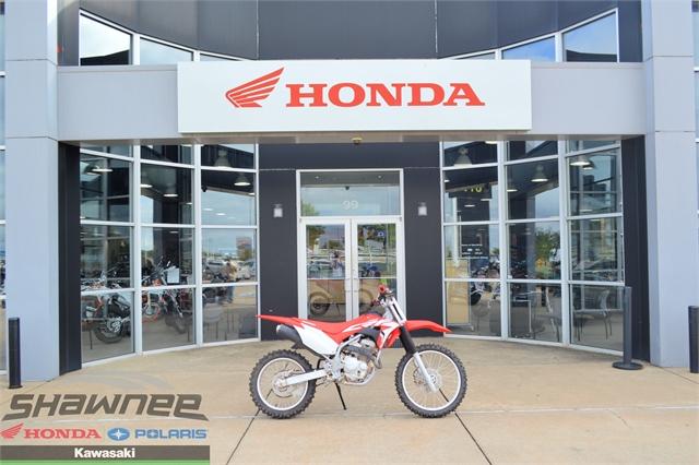 2021 Honda CRF 250F at Shawnee Honda Polaris Kawasaki