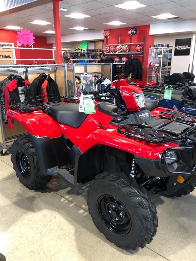 2020 Honda TRX520FA5L at Genthe Honda Powersports, Southgate, MI 48195