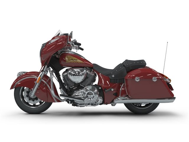 2018 Indian Motorcycle Chieftain Classic ABS Red at Brenny's Motorcycle Clinic, Bettendorf, IA 52722