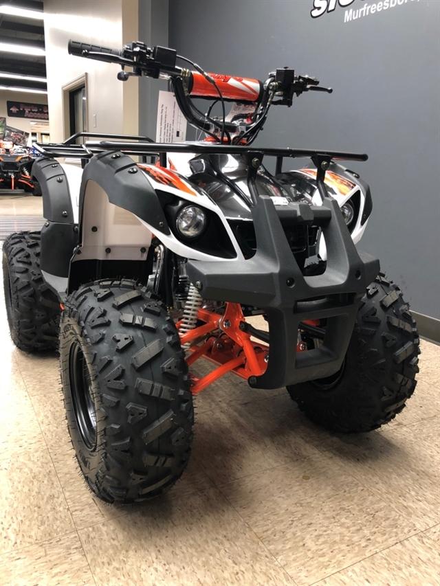 2020 KAYO USA, A & G Distributing BULL 125 AU125-B-WHT at Sloans Motorcycle ATV, Murfreesboro, TN, 37129