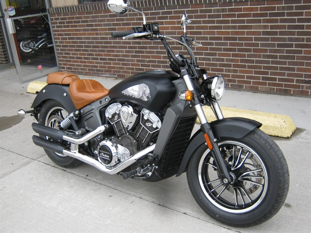 2016 Indian Motorcycle Scout at Brenny's Motorcycle Clinic, Bettendorf, IA 52722