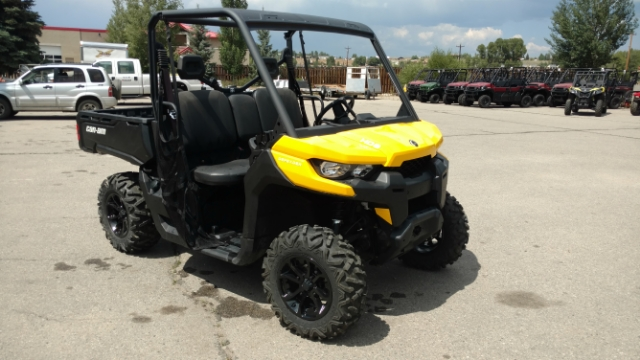 2018 Can-Am Defender HD8 DPS  DEMO HD8 DPS at Power World Sports, Granby, CO 80446
