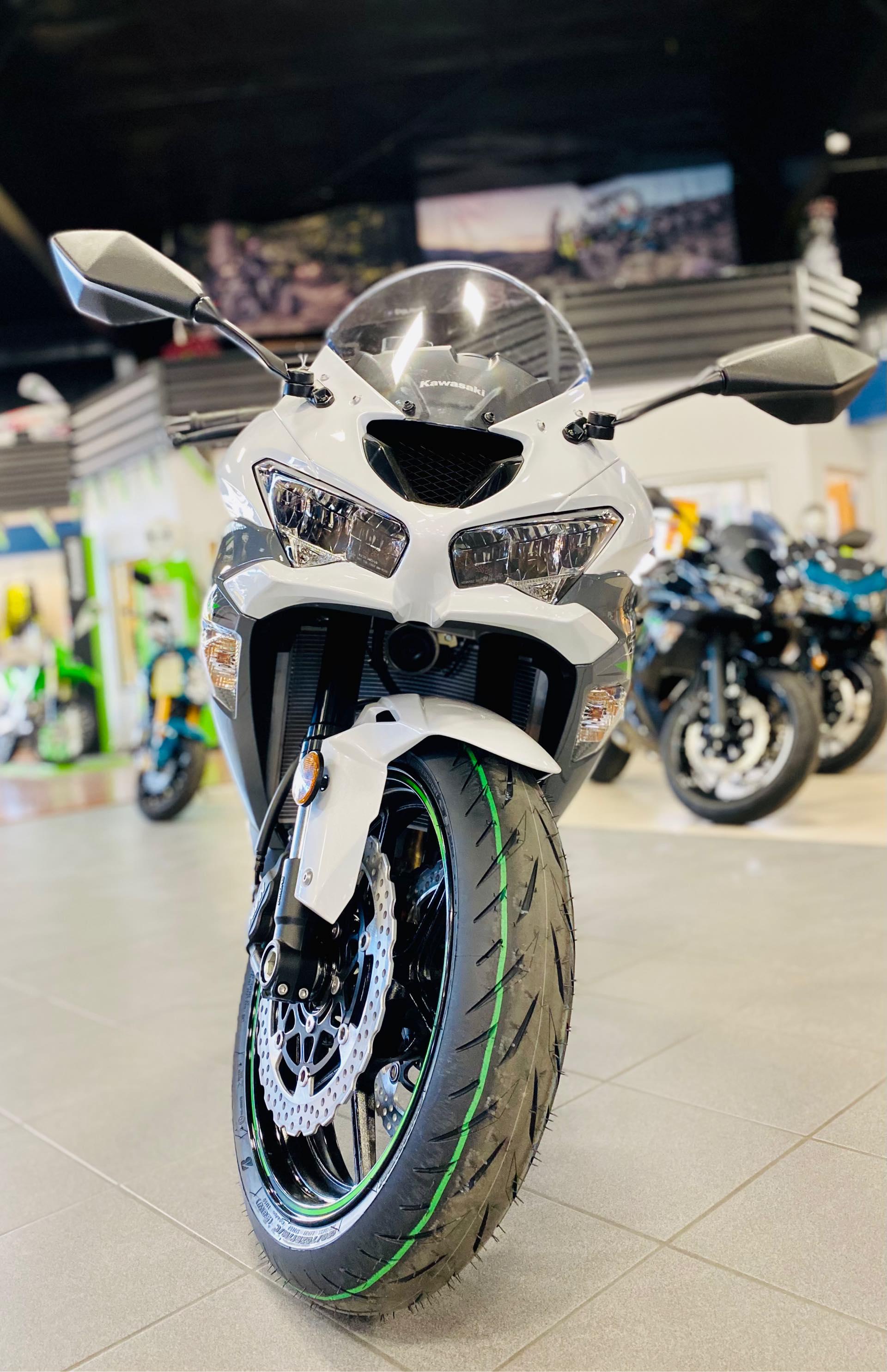 2021 Kawasaki Ninja ZX-6R ABS at Rod's Ride On Powersports