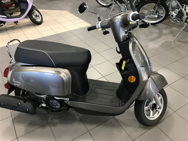 2018 Genuine Scooter Co. Buddy Kick 125 at Rod's Ride On Powersports, La Crosse, WI 54601